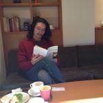 カフェで優雅にお勉強ざます。