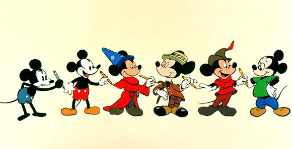 mickey evolution
