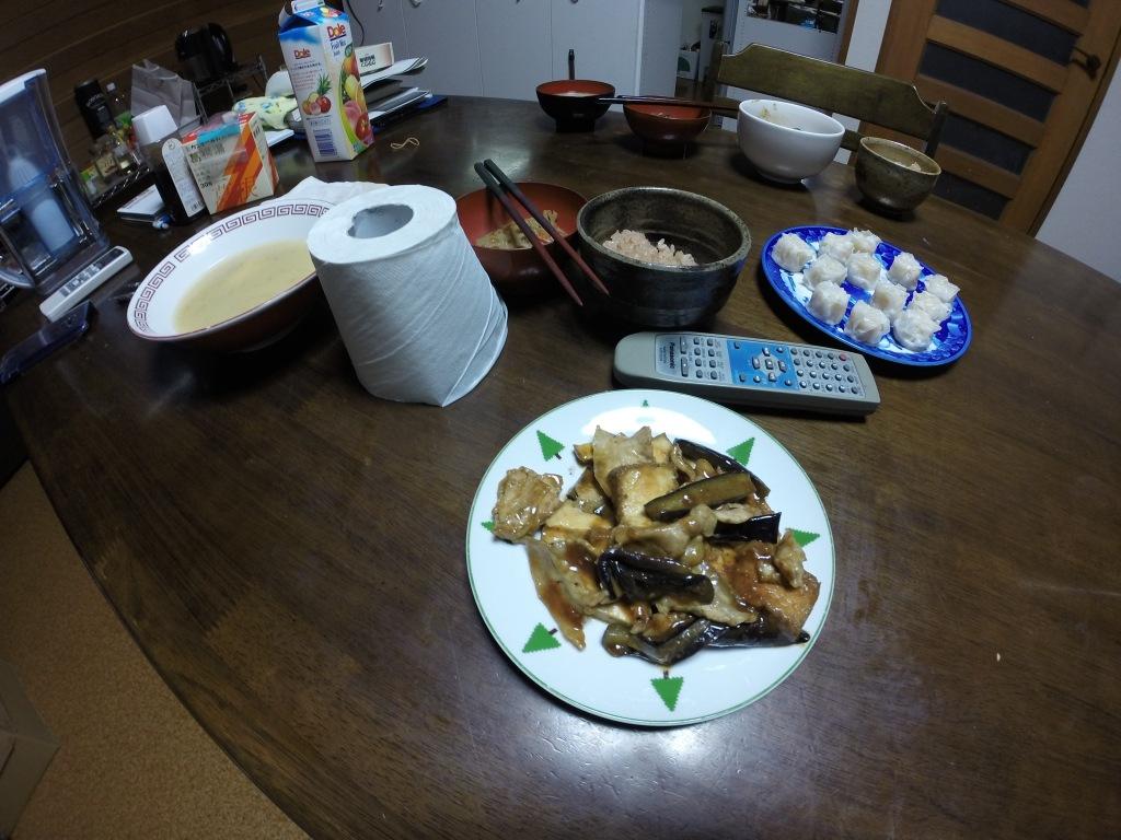 GoProで撮影したきのうのご飯