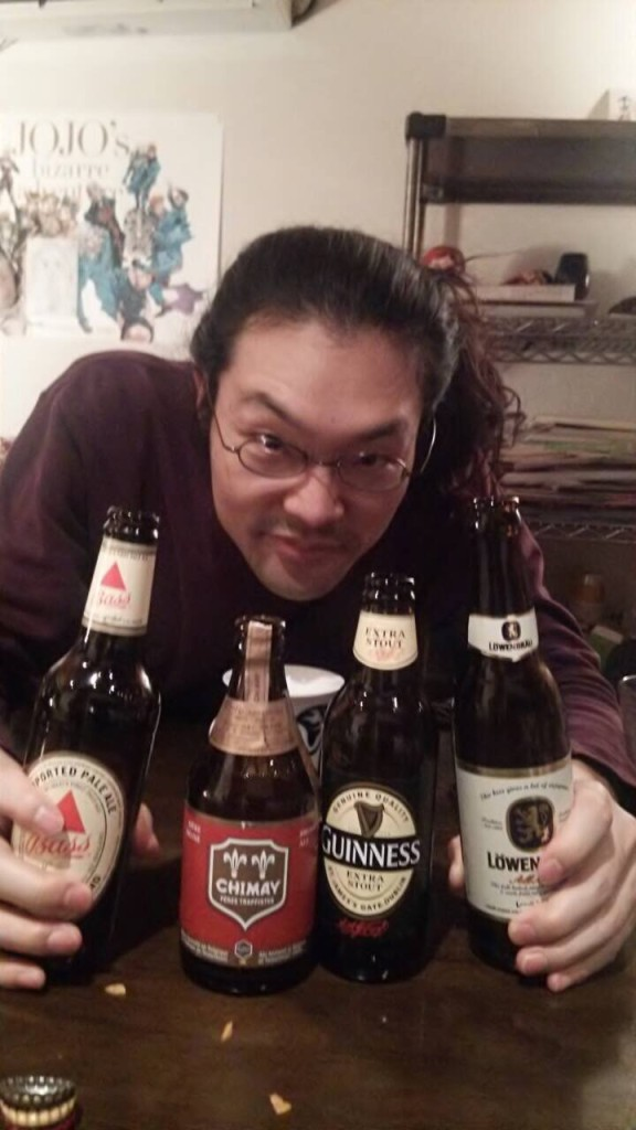 外国のビールをひとりじめwww