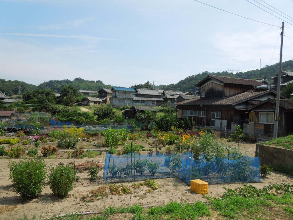 百島の風景