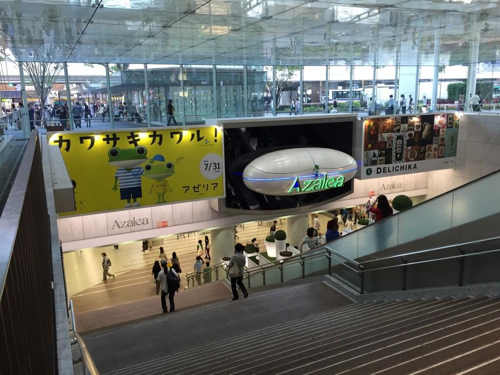川崎駅!品川駅に雰囲気が似ていた!