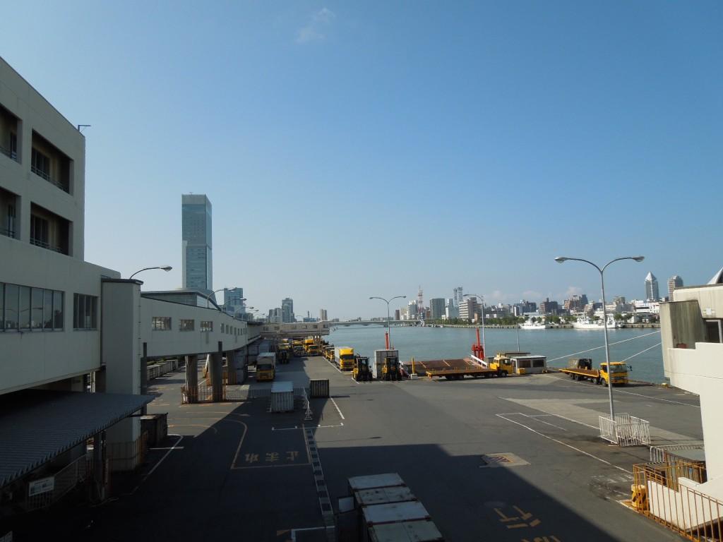 佐渡汽船から見える風景