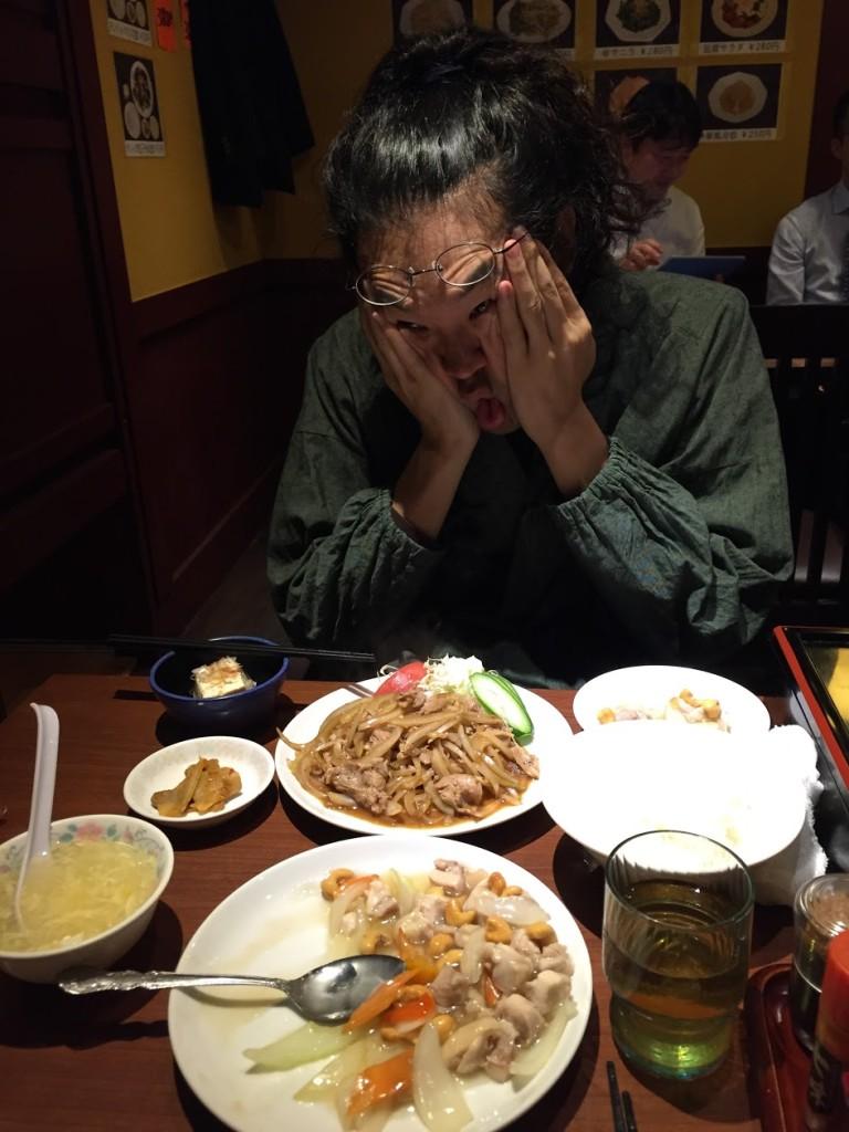 美味しい美味しい中華料理屋さんにて!