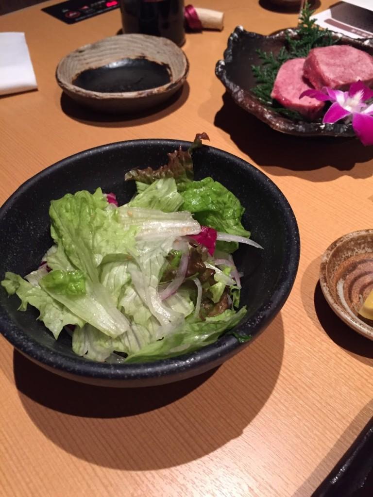 野菜も美味しかったぁ。でもちょっと味付けが濃かったかなぁ。