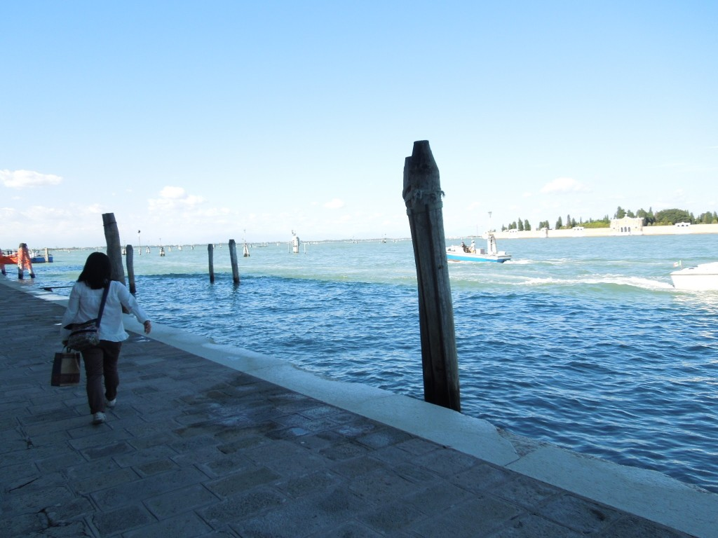 ヴェネツィアをサーフィン!