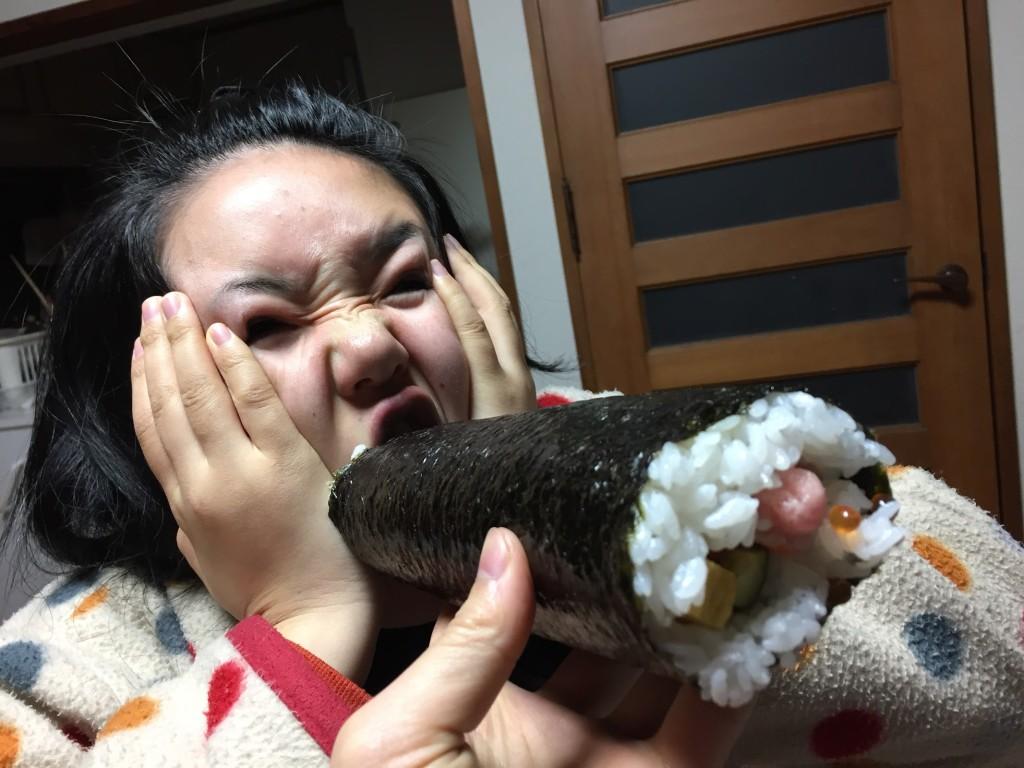 ぶり子さんも食べるよ