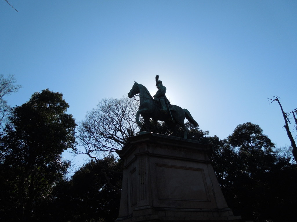 高松宮親王騎馬像