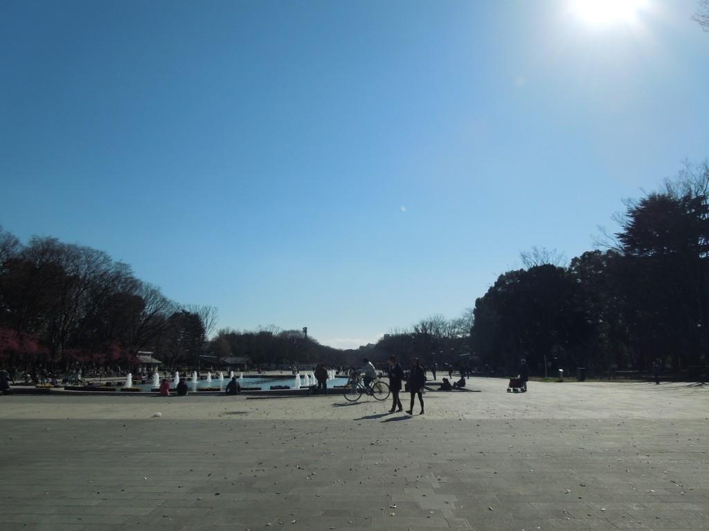 上野公園噴水広場