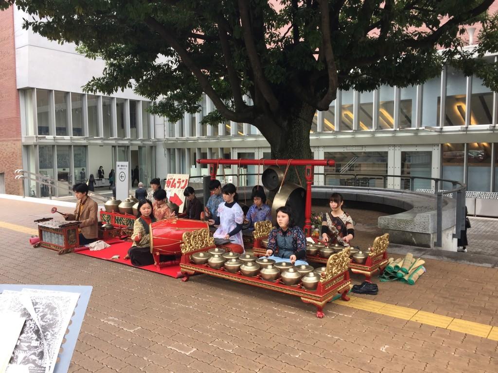 入学式はガムランに始まる!!!