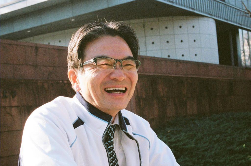 入学して初めて見た宮田先生、あ!ホントにいた!という気分でした。