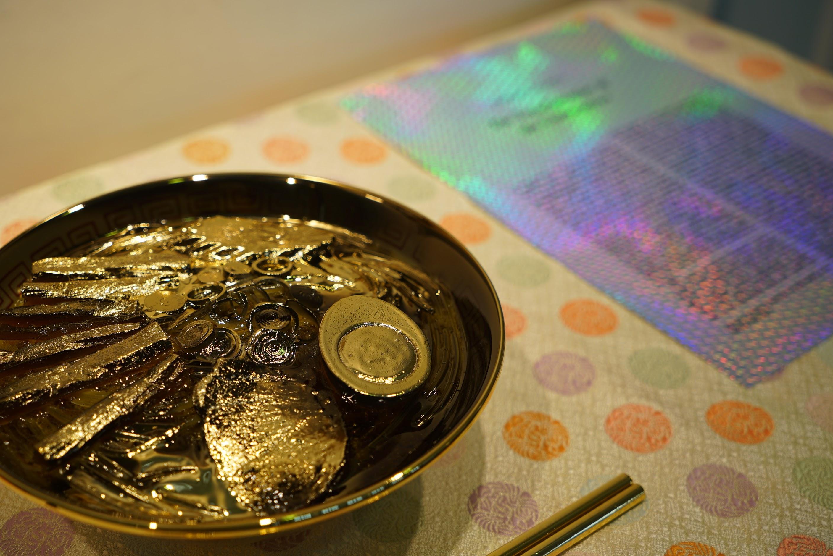黄金のラーメン